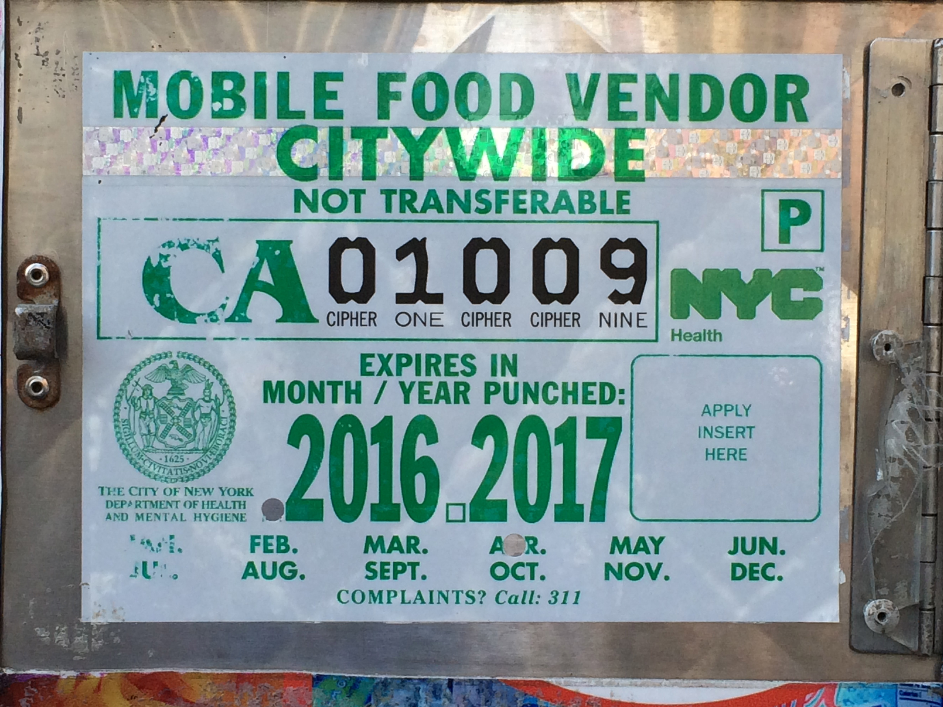Street Food Permit Nyc