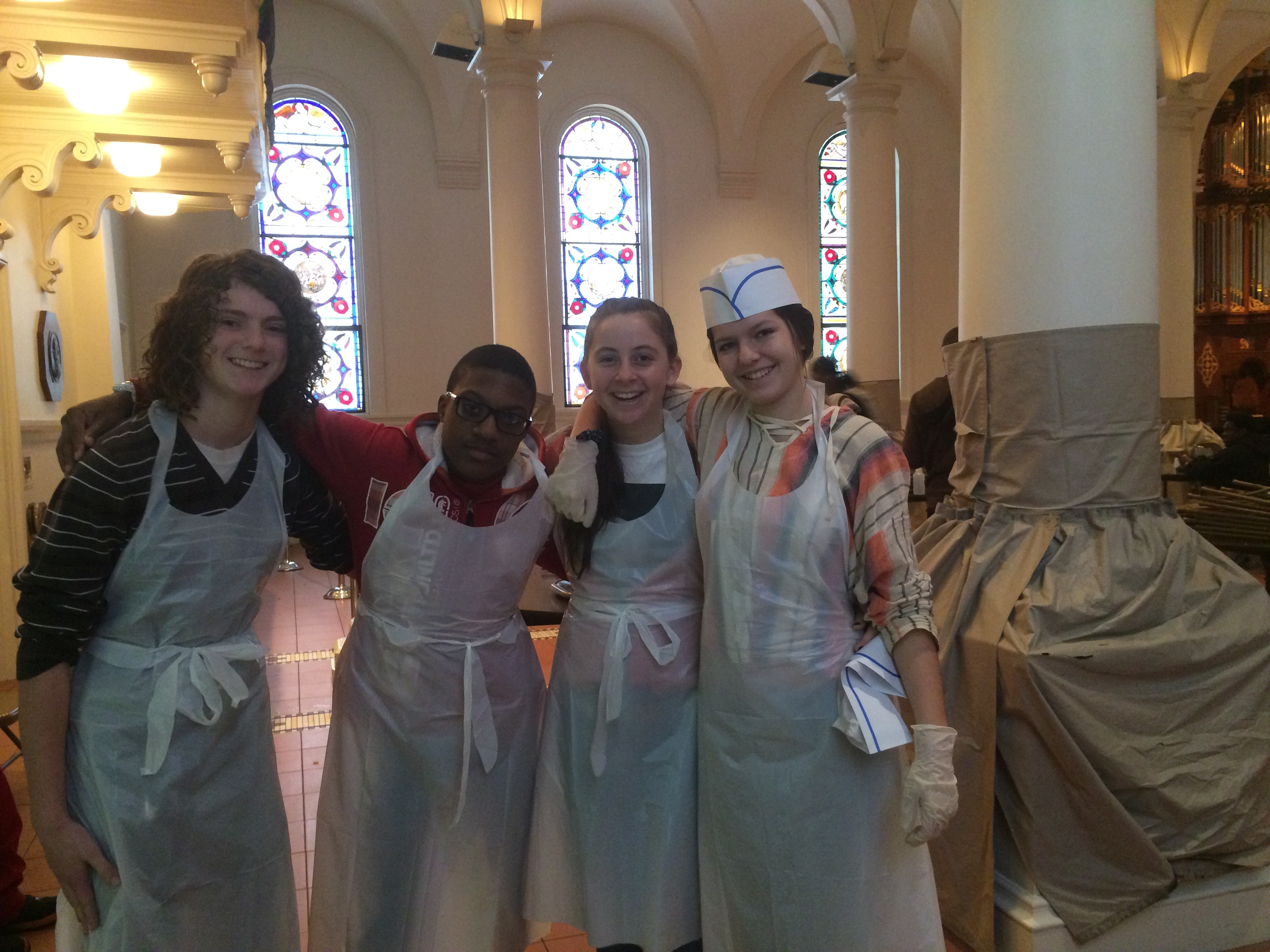Volunteered At Holy Apostles Soup Kitchen The Social Justice Project