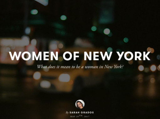 Sarah Grados – The Women of New York & Peru