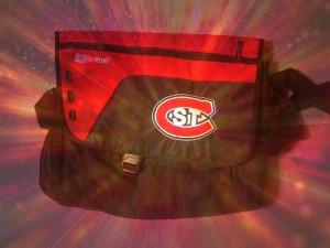 'St. C' laptop bag