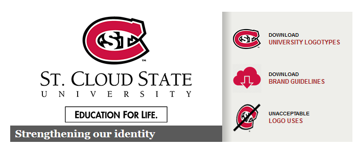 SCSU Brand guideliens
