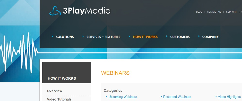 3Play media Recorded Webinars
