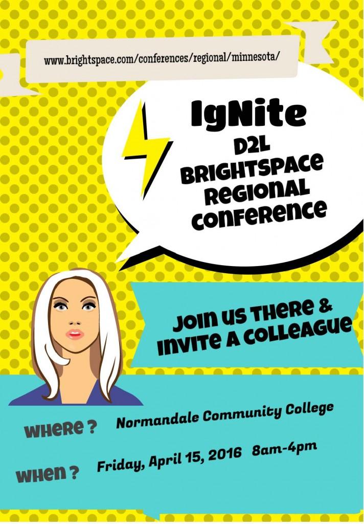 Mini Poster 2016-04-15 Ignite Conference Normandale