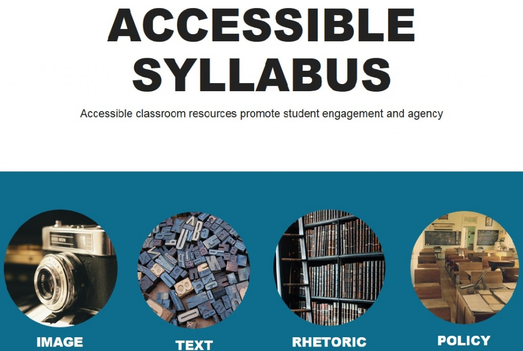 Accessible Syllabus screenshot