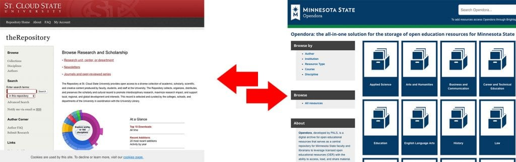 repository vs opendora