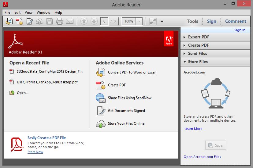 Adobe Acrobat Reader: PDF Viewer, Editor & Creator - Apps ...