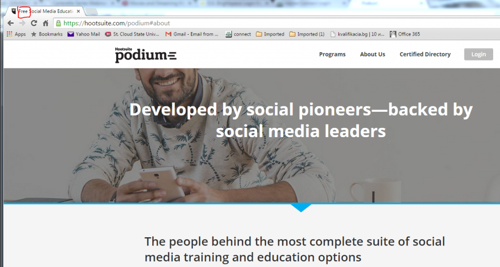 podium by hootsuite