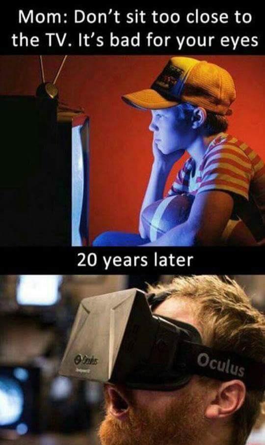 VR meme