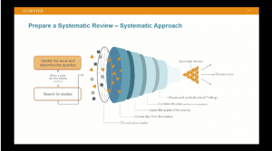 prepare systematic review