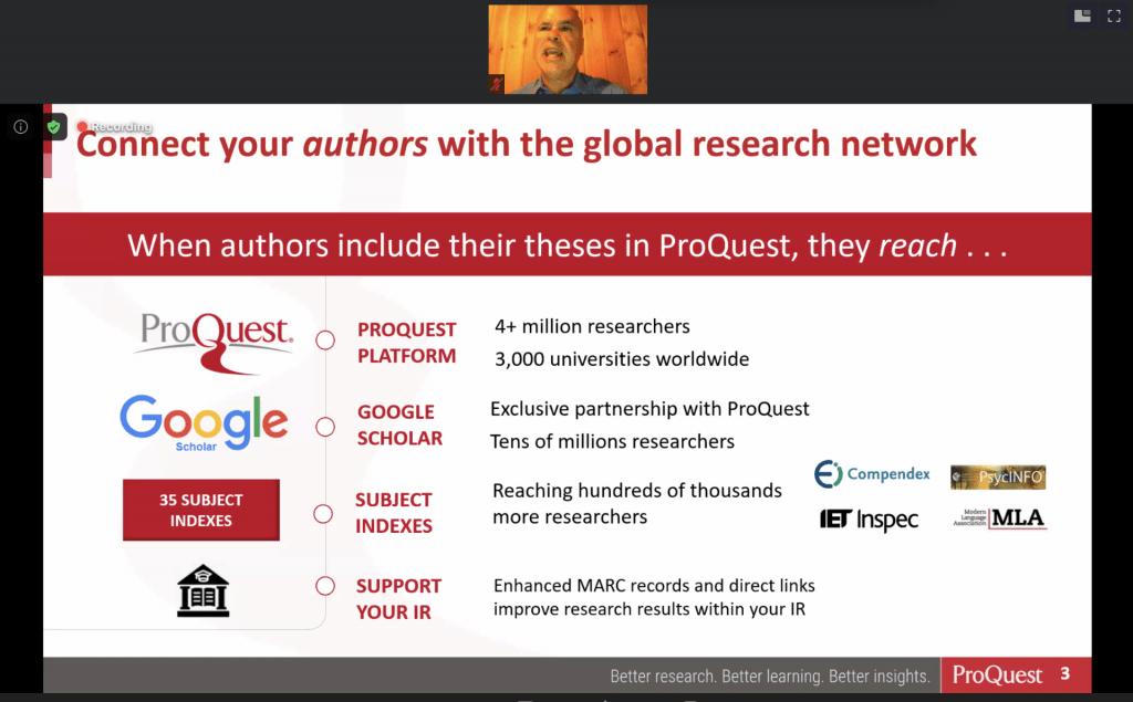 Austin McLean ProQuest