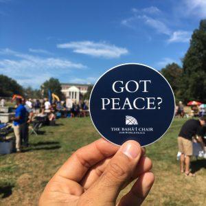 The Bahá'i Chair for World Peace | Blog