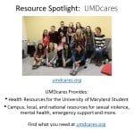 UMD Cares