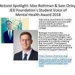 Max Rothman & Sam Orley
