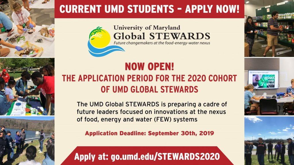 Global STEWARDS application announcement