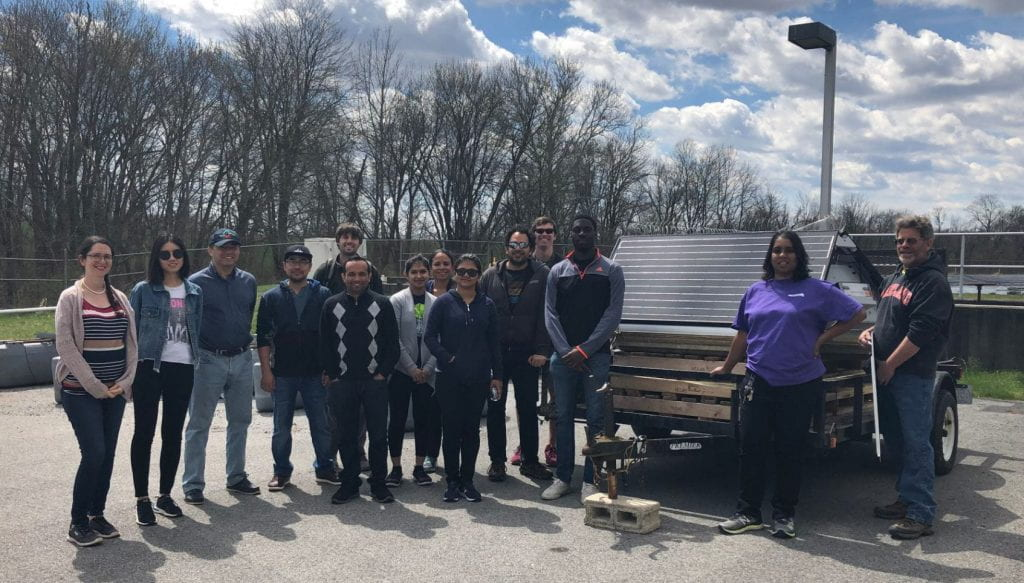 Global STEWARDS visit  the town of Emmitsburg MD, a leader in sustainable innovations