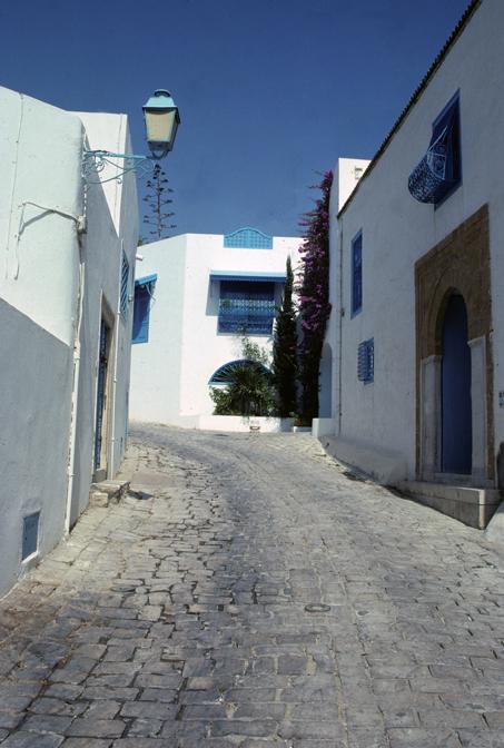 Sidi-Bou-Said, Tunisia. Photo by Bill Bechhoefer
