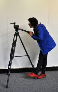 Tripod can be used with video cameras as well as the point-and-shoot cameras.
