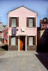 Burano, Italy; Pink House