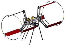 Figure 1: Conceptual Design of a Cycloidal Rotor MAV