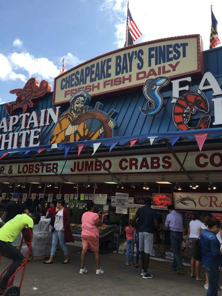Captain White's Seafood, Washington DC
