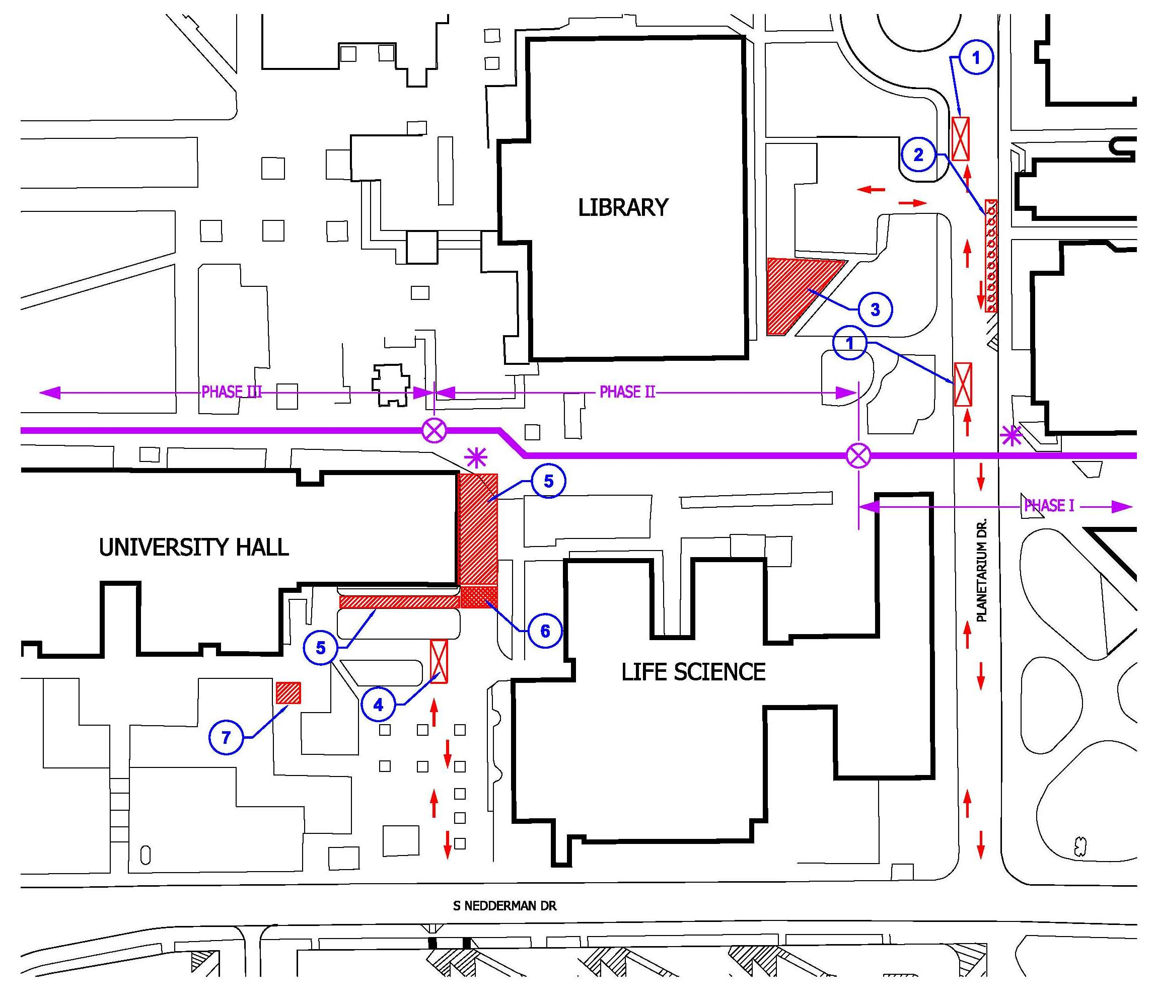 Construction Site Map: Facilities Management Construction Report » Summer