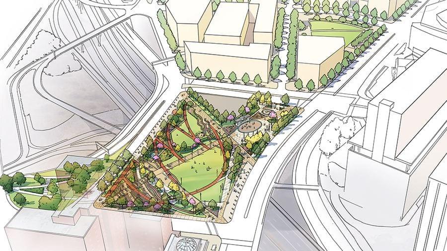 'Deck parks' restore community ties in neighborhoods divided by highways