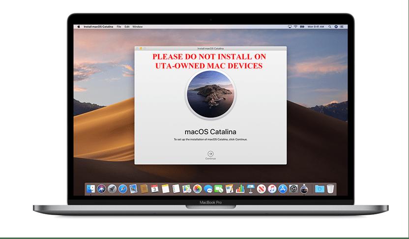 MacOS Catalina Laptop