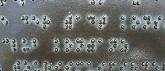 braille text