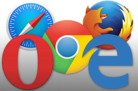 Web Browser Logos