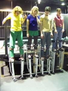 Knights on Stilts
