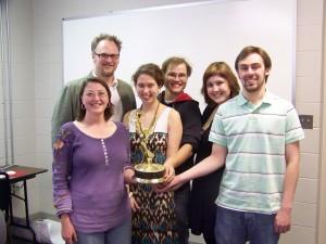Emmy Award winning writer Keri Grayson Horn visits the 2010 Playwriting class