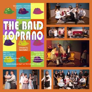 Bald Soprano, Spring 2011