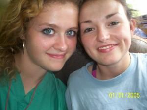 Jordan and Monica in Honduras June 08