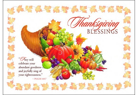 Thanksgiving Blessings The Adult Learner