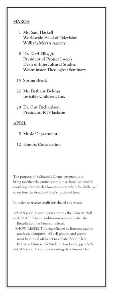 Chapel Card 2