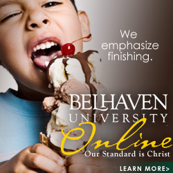 Belhaven Online Programs to see you through the entire process