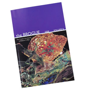 The Brogue, Belhaven College's annual creative arts journal, won 3rd place at the 2009 Southern Literary Festival.