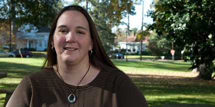 Heather Logan Ivery '00: Homeless Program Coordinator for the city of Jackson, Miss.