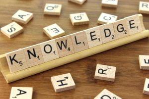 Knowledge Scrabble Tiles