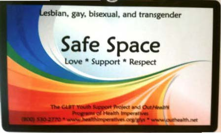 LGBTQ Safe Zone Session