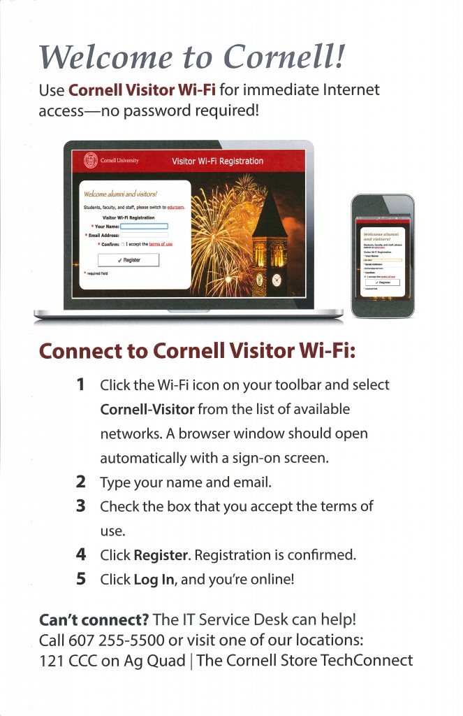 Visitor Wifi