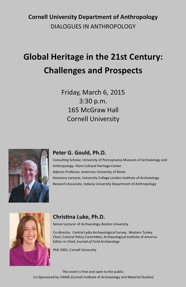 Global Heritage dialog