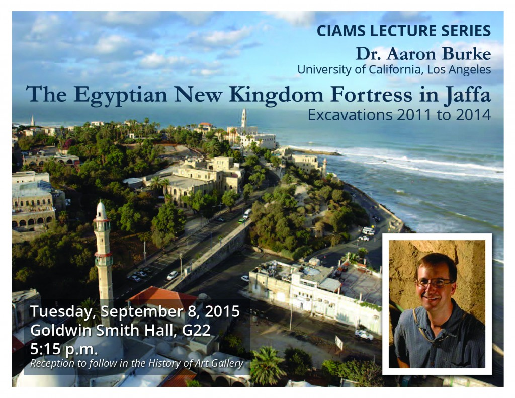 CIAMS Lecture Series: Aaron Burke