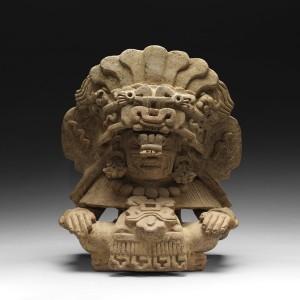 Zapotec Funerary Urn, Mexico, 750-1200 CE.