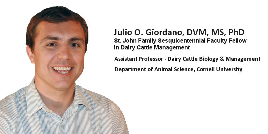 Julio O. Giordano, DVM, MS, PhD