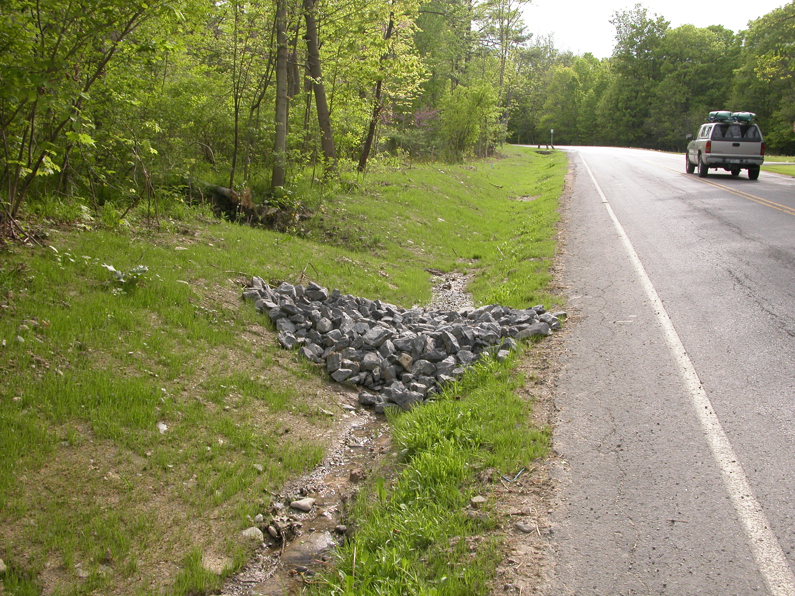 Roadside Ditches Re Plumbing Watersheds Sustainable