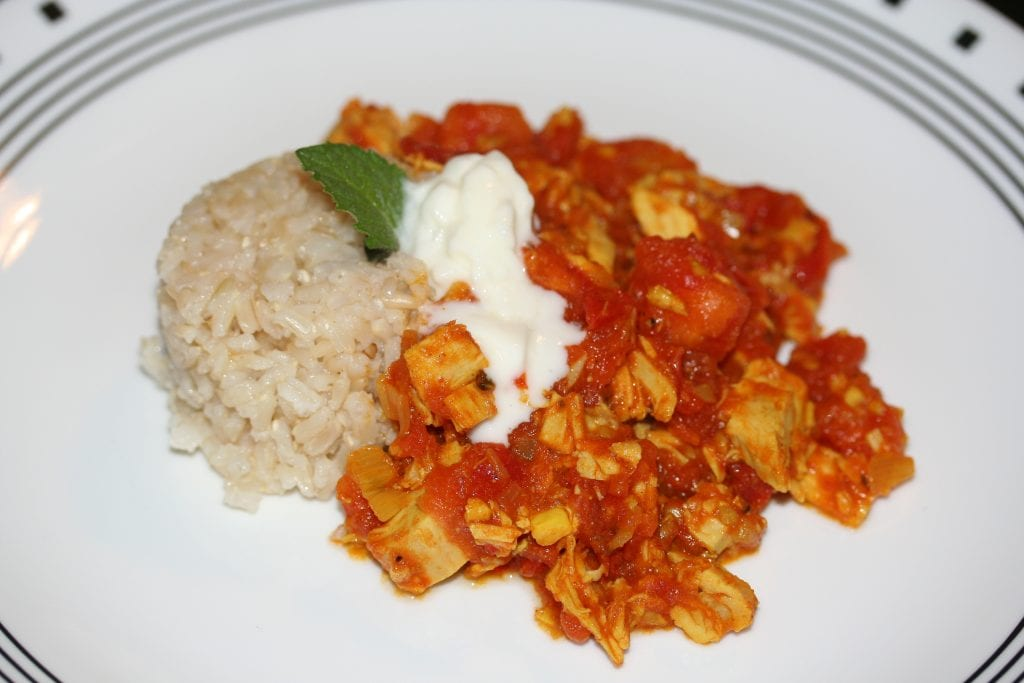 turkey Indian curry