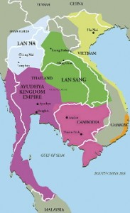 Map 3: Ayutthaya Kingdom