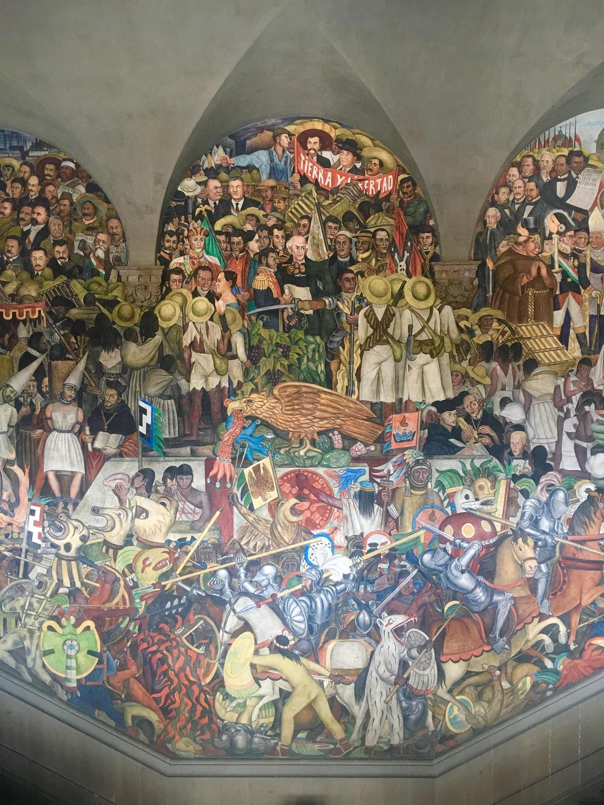 Internship with a project management focus cipa 101 for Diego rivera mural palacio nacional