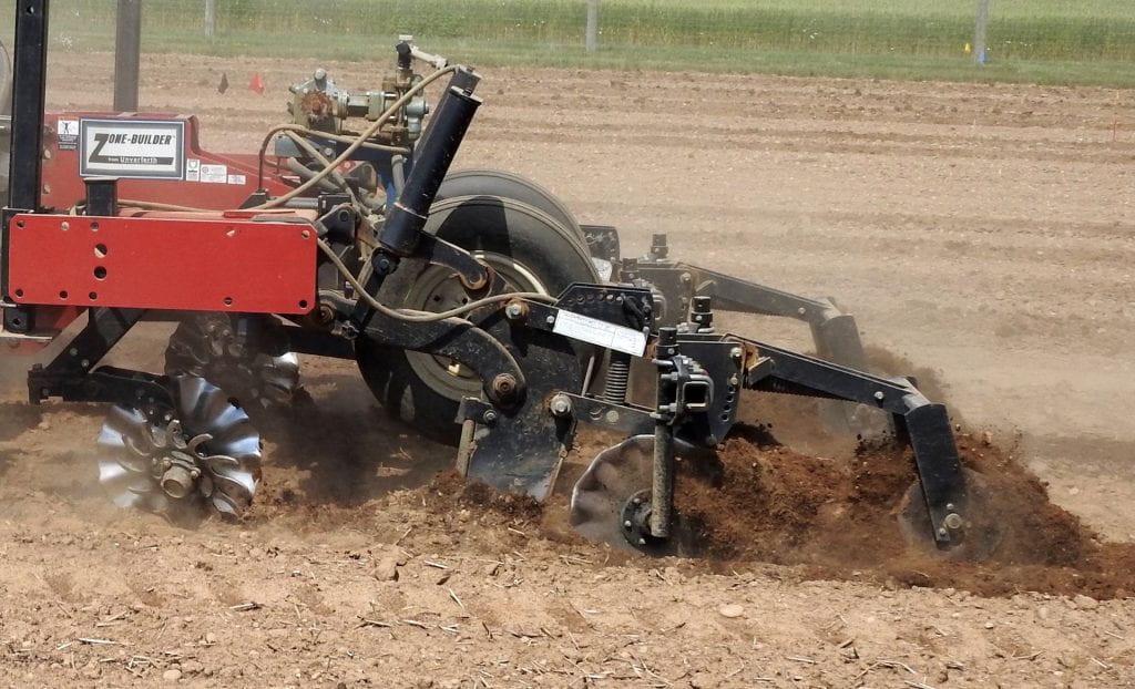 strip till planting into winterkilled oats